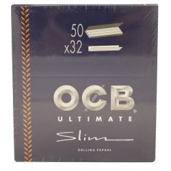 Papel de Fumar Ocb Ultimate Slim (50Und) Reacondicionado - Imagen 1